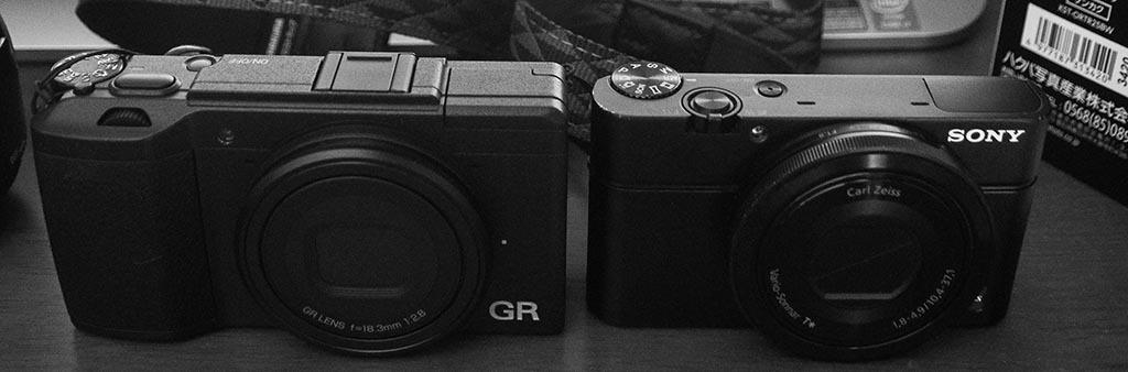 GRⅡとRX100